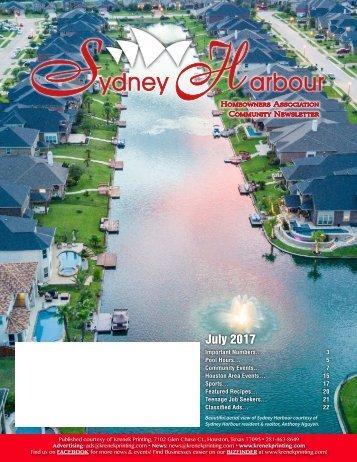 Sydney Harbour July 2017