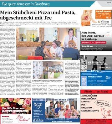 Die gute Adresse in Duisburg