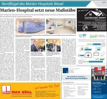 Nordflügel des Marien-Hospitals Wesel