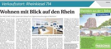 Verkaufsstart: Rheinkiesel 714