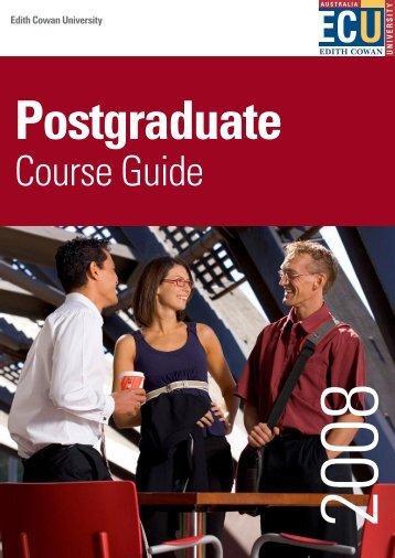 Postgraduate - Edith Cowan University