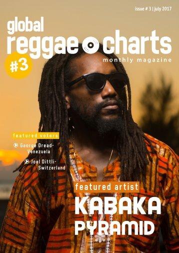 Global Reggae Charts - Issue #3 / July 2017
