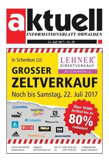 Aktuell Obwalden 28-2017