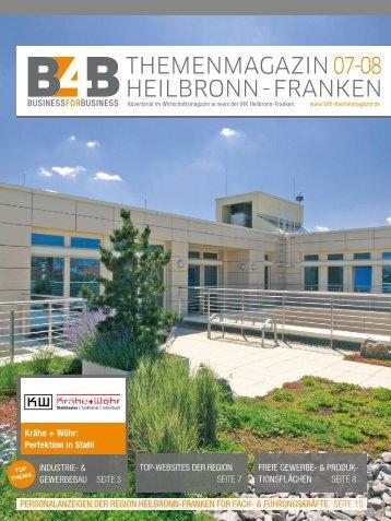 FAMILIENUNTERNEHMEN IN DER REGION | B4B Themenmagazin 09.2017