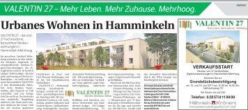 Urbanes Wohnen in Hamminkeln  -ET 15.07.2017-