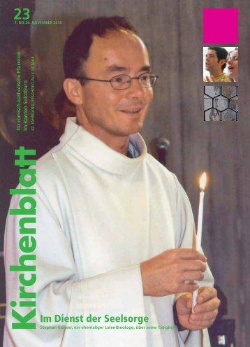 Im Dienst der Seelsorge - Kirchenblatt