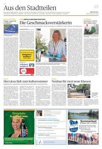 Stadtteilserie - Fünf Dinge, die Sie über Königshof/Stahldorf wissen sollten