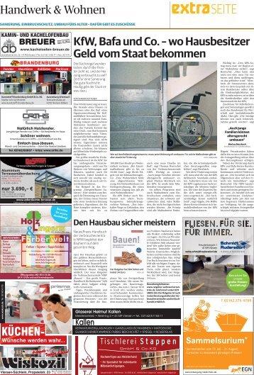 Handwerk und Wohnen   -ET 19.07.2017 KEM-