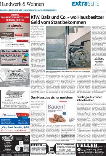 Handwerk und Wohnen  -ET 19.07.2017 NGZ-