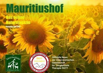 Mauritiushof Naturmagazin Juli 2017