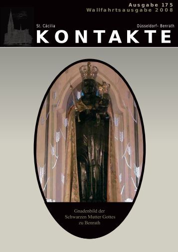 KONTAKTE - Katholische Pfarrgemeinde St. Cäcilia Benrath