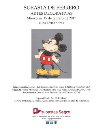 A. DECORATIVAS FEBRERO 2017