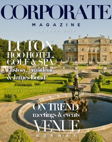 Corporate Magazine August 2017