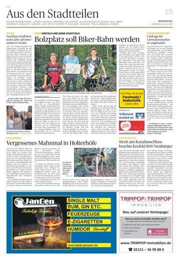 Stadtteilserie - Fünf Dinge, die Sie über Forstwald/Holterhöfe wissen sollten  -ET 25.07.2017-