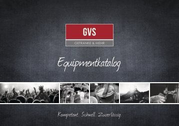 GVS Equipmentkatalog – Veranstaltungsservice