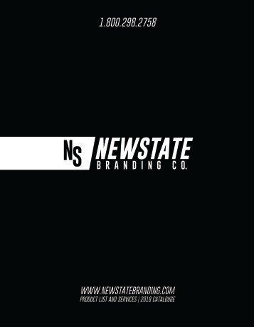 Newstate™ Branding Co. | 2018 Catalog