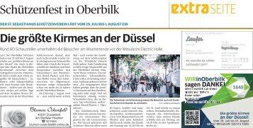 Schützenfest in Oberbilk  -ET 28.07.2017-