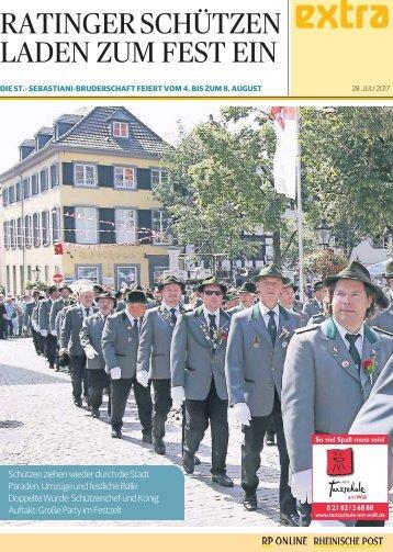 Ratinger Schützen laden zum Fest ein  -ET 28.07.2017-
