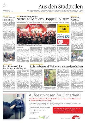 Stadtteilserie - Fünf Dinge, die Sie über Hüls wissen sollten  -ET 28.07.2017-
