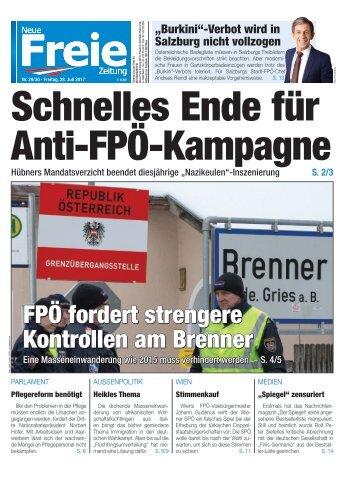 Schnelles Ende für Anti-FPÖ-Kampagne