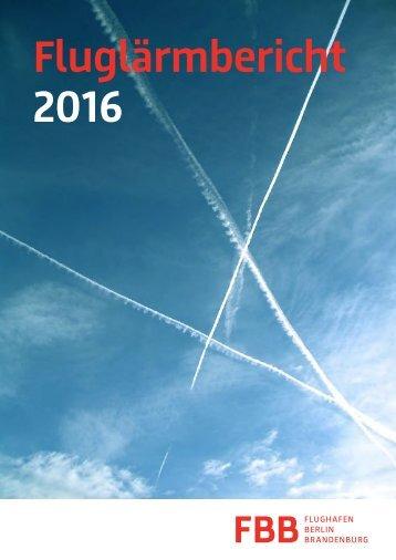 Fluglärmbericht 2016