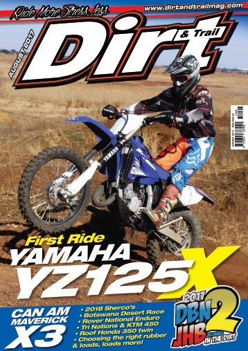 Dirt and Trail August 2017 issue
