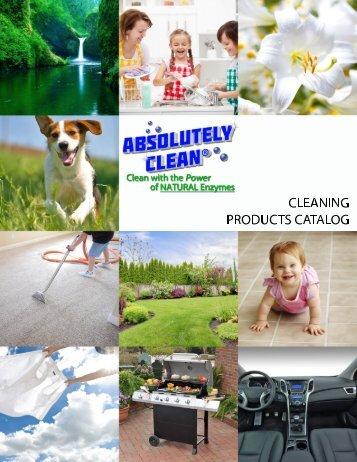 Absolutely Clean 2018 Catalog