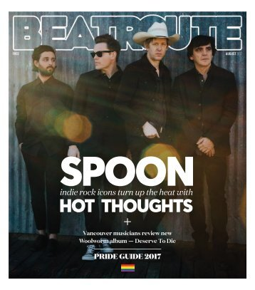 Beatroute Magazine BC Print Edition - August 2017