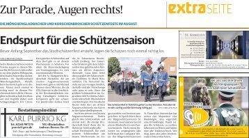 Die Mönchengladbacher und Korschenbroicher Schützenfeste im August  -ET 04.08.2017-