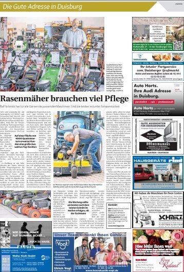 Die gute Adresse in Duisburg  -ET 04.08.2017-