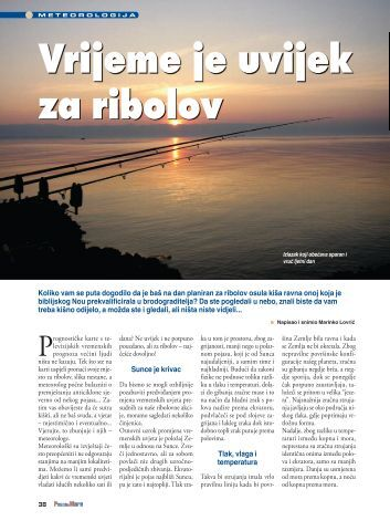 38-43 Vrijeme je uvijek za ribolov.indd - Ribolov na Jadranu