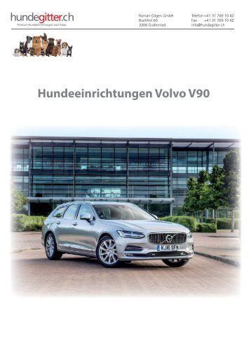 Volvo_V90_Hundeeinrichtungen