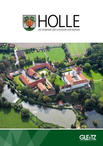 Broschüre Gemeinde Holle 2016