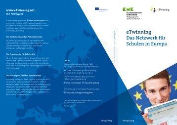 eTwinning – Das Netzwerk für Schulen in Europa
