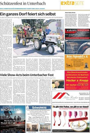 Schützenfest in Unterbach  -ET 10.08.2017-