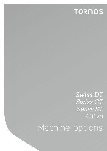Tornos Machine options EN