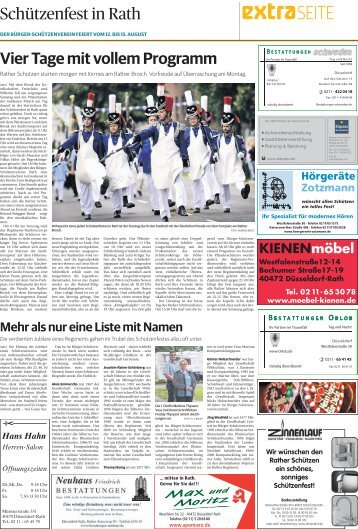 Schützenfest in Rath  -ET 11.08.2017-