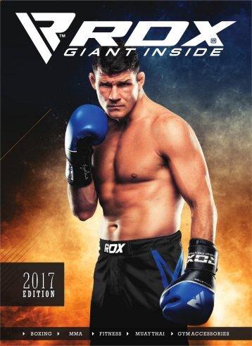 RDX Sports Catalog - 2017