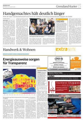 Handwerk und Wohnen  -ET 16.08.2017 VIE-