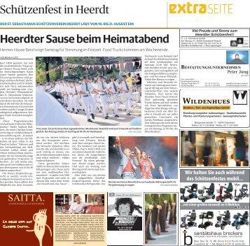 Schützenfest in Heerdt  -ET 17.08.2017-