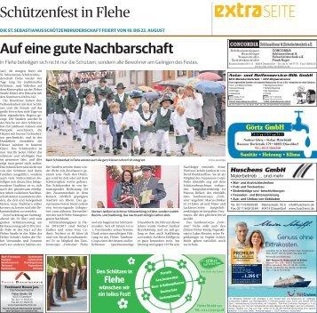 Schützenfest in Flehe  -ET 18.08.2017-