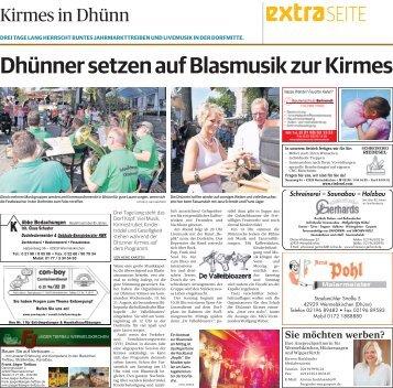 Kirmes in Dhünn  -ET 18.08.2017-
