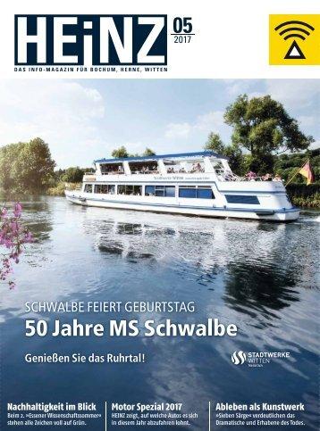E-Paper Heinz-Magazin für Bochum 05/2017