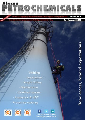 African Petrochemicals Edition July/August Edition 14.4 {2017}