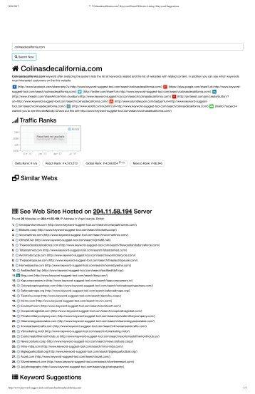 ™ _Colinasdecalifornia . com -  respuesta - compra de keywords - google adsense - inversión publicitaria cuantiosa vs inteligencia y estrategia digital - abel jimenez marketer seo