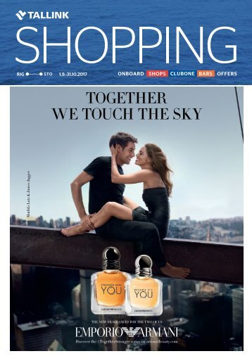 Riga-Stockholm September-October 2017 Tallink Shopping catalogue – full verison