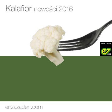 Kalafior nowości 2016