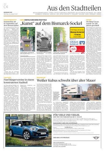 Stadtteilserie - Fünf Dinge, die Sie über Bismarckviertel/Cracau wissen sollten  -ET 25.08.2017-