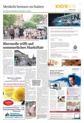 Stadtfest in Hamminkeln  -ET 25.08.2017-