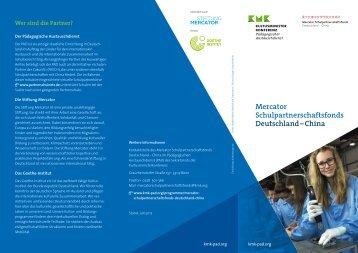 Flyer Mercator Programm
